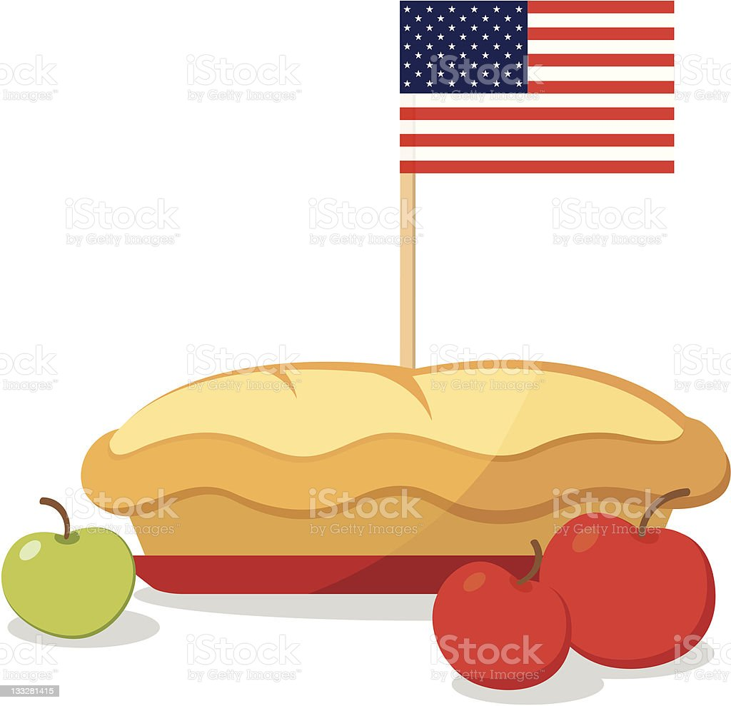 American pie royalty-free stock vector art