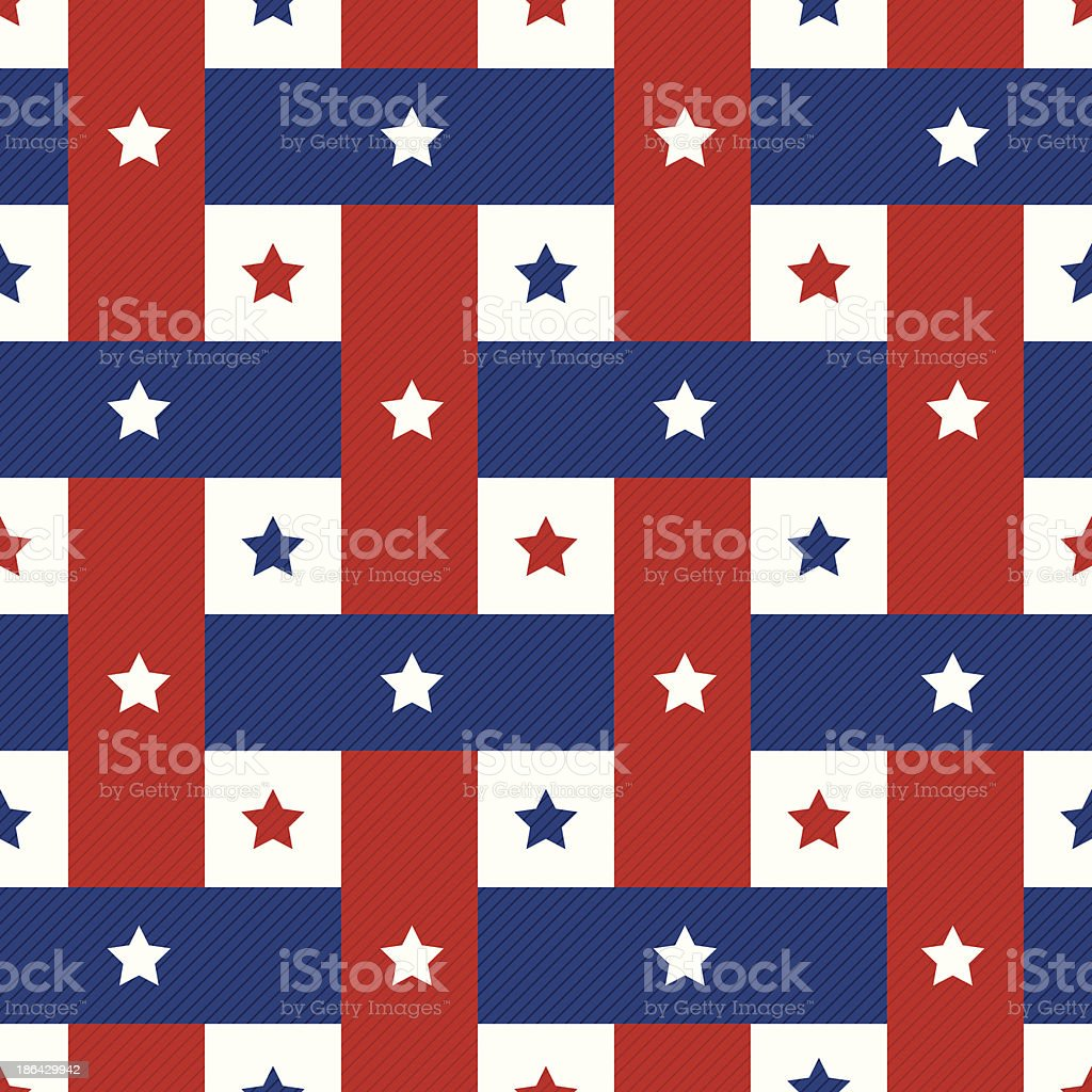 american seamles pattern background royalty-free stock vector art