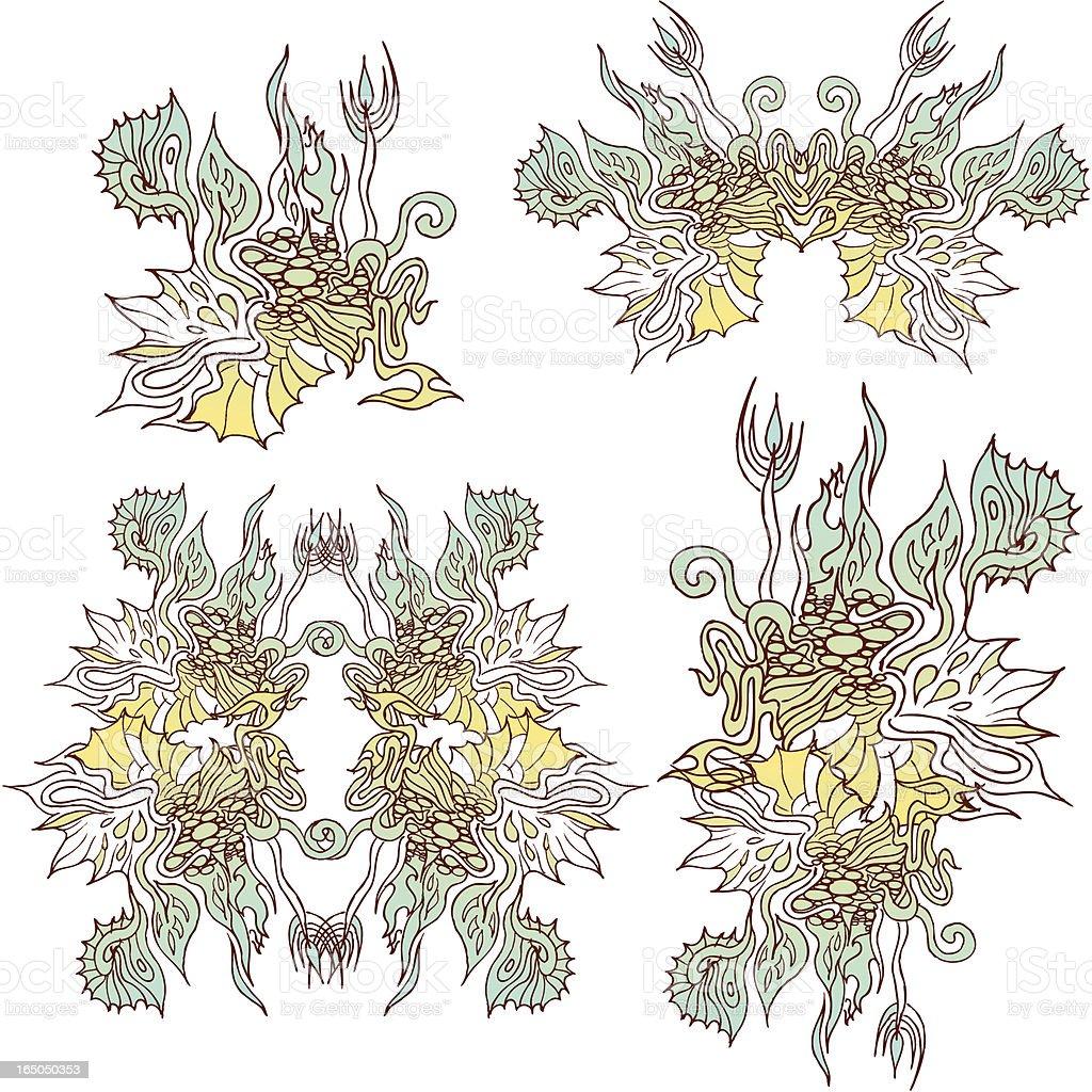 amphibian energy royalty-free stock vector art