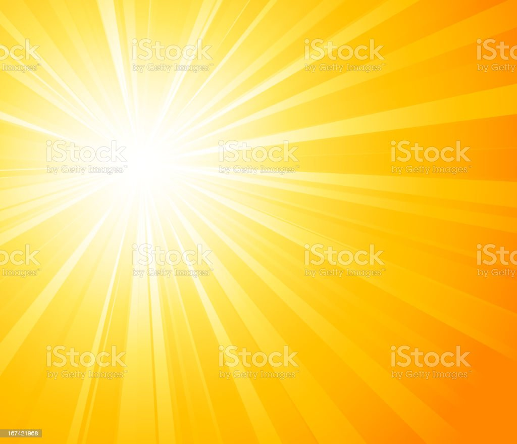 An illustration of a sunny background royalty-free stock vector art