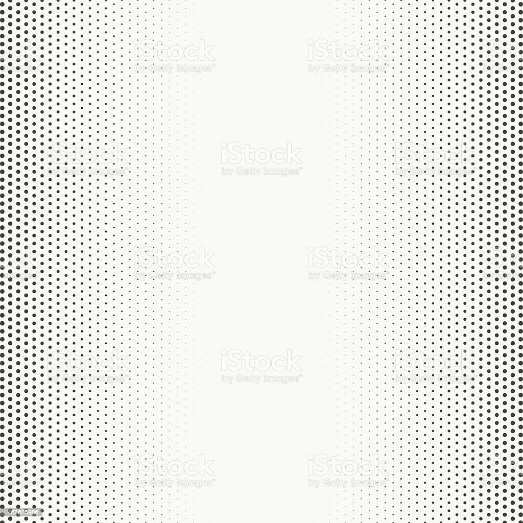An up close picture of a halftone texture vector art illustration