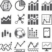 analysis icon . data chart graph