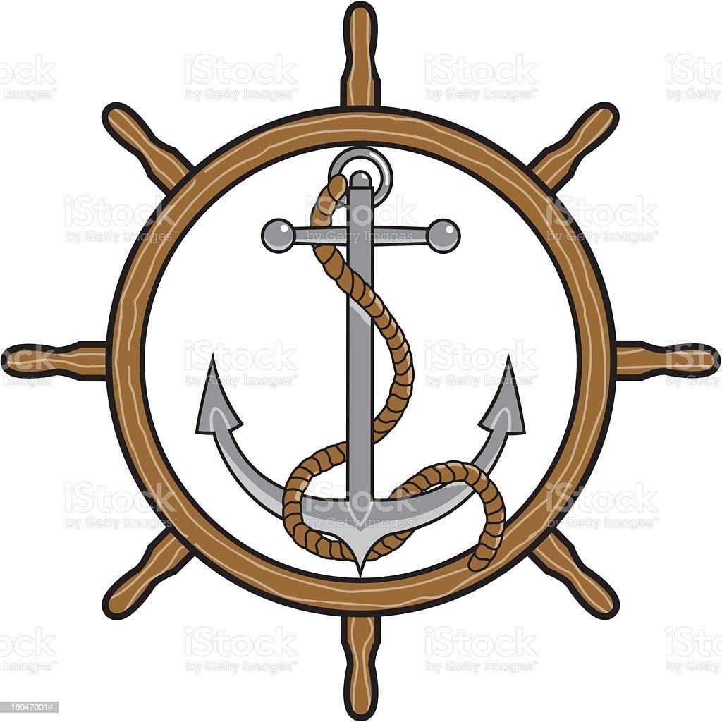 Anchor Icon royalty-free stock vector art