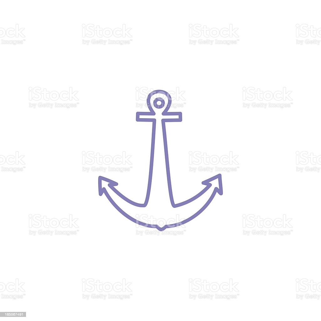 anchor royalty-free stock vector art
