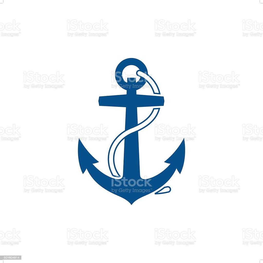 Anchor vector art illustration