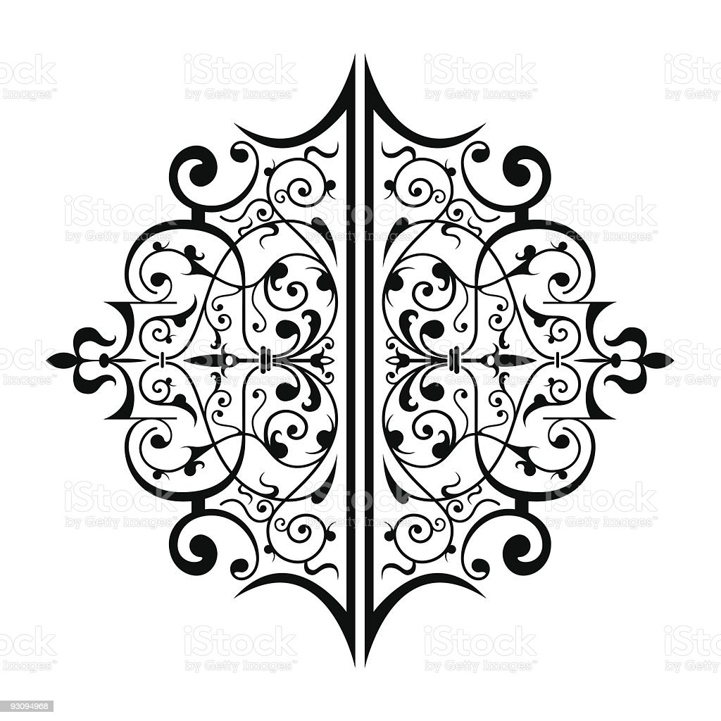Ancient ornament royalty-free stock vector art