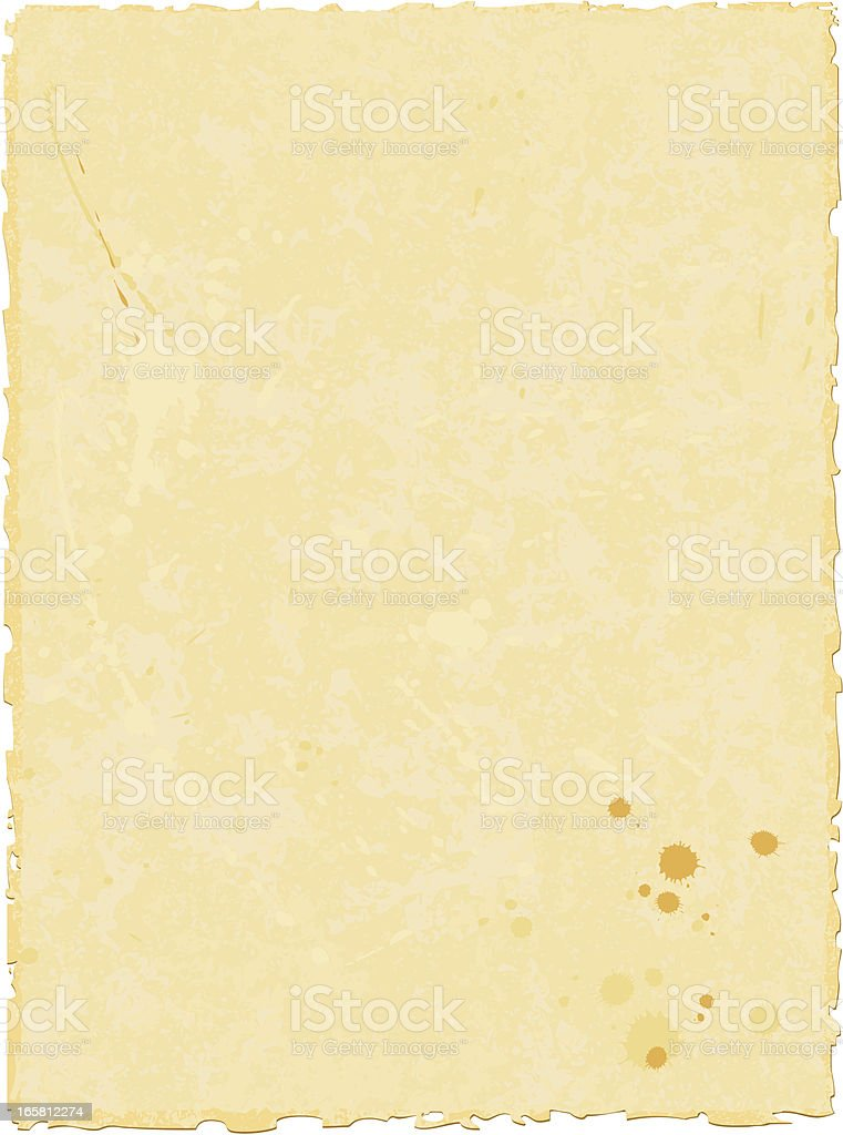 ancient paper royalty-free stock vector art