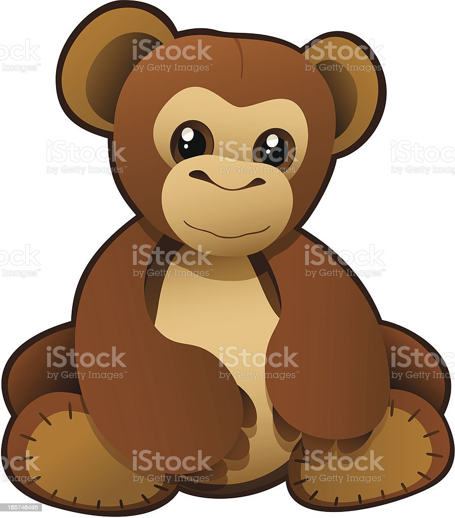 Andy The Ape royalty-free stock vector art
