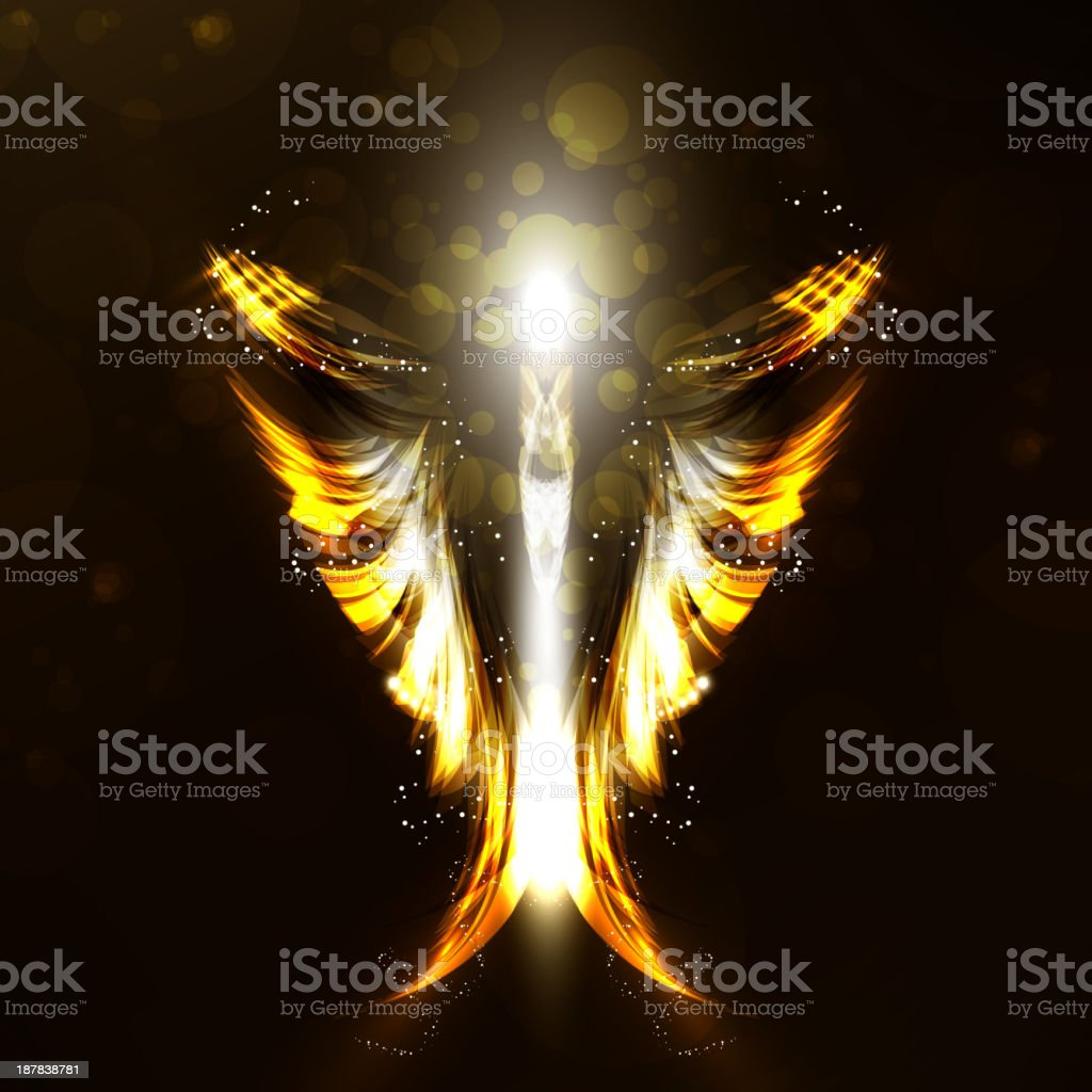 Angel royalty-free stock vector art