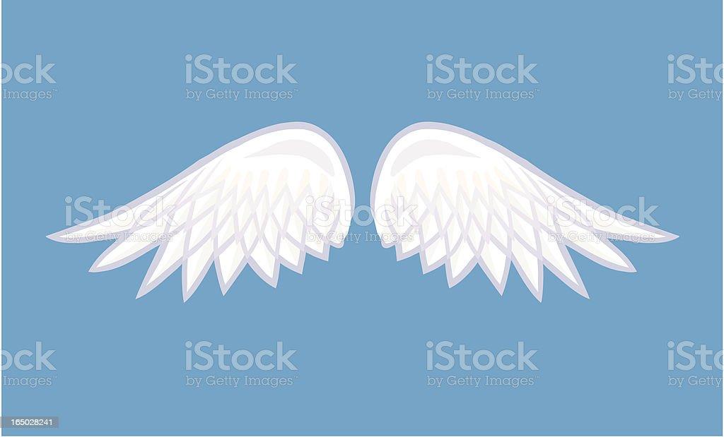 Angel Wings vector art illustration