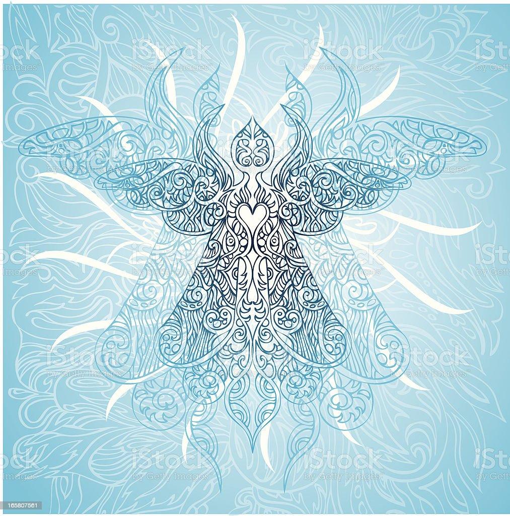 angelic ascenscion royalty-free stock vector art