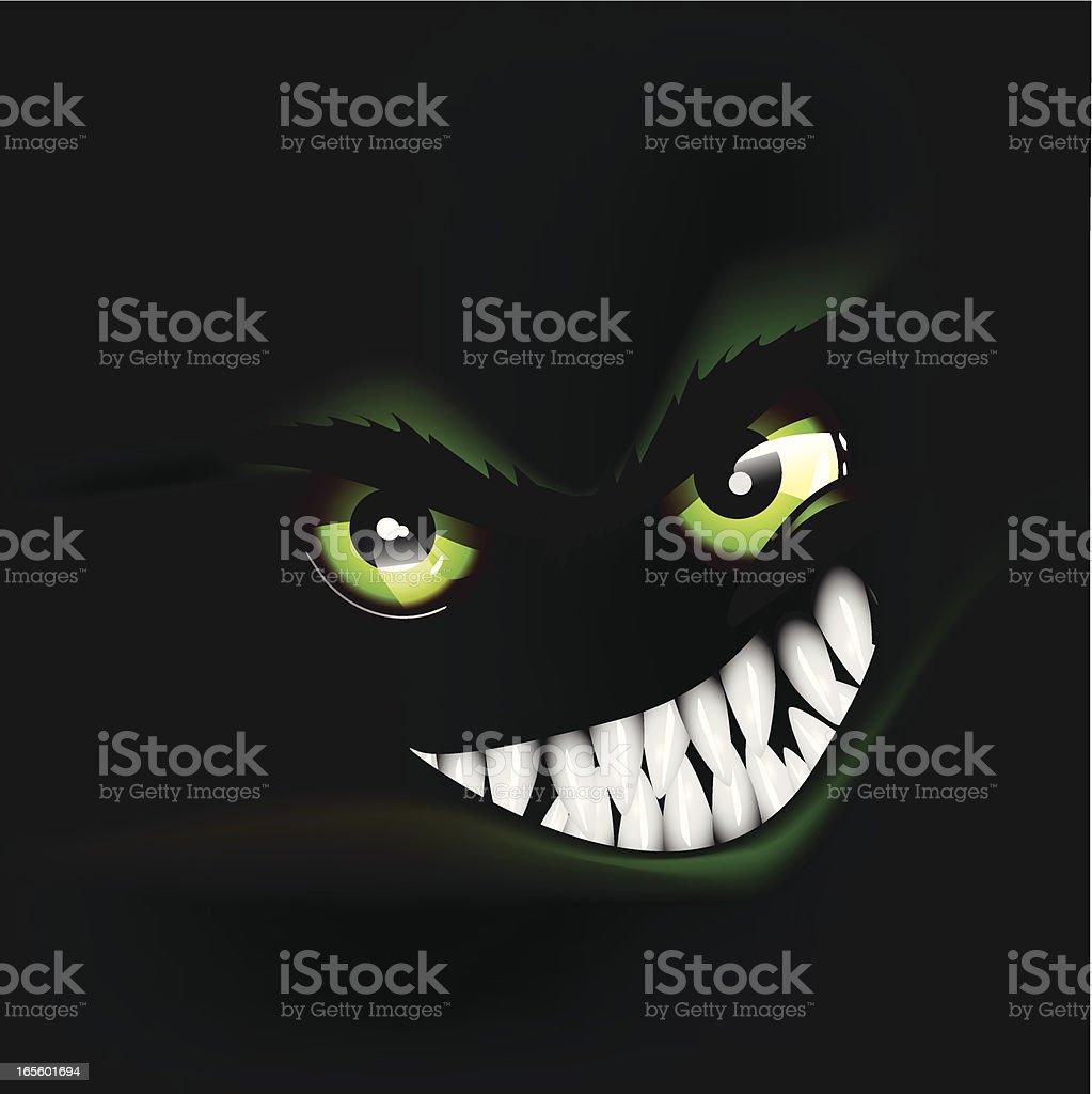 Angry Animal royalty-free stock vector art