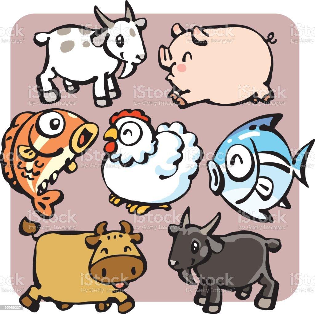 Animal All royalty-free stock vector art