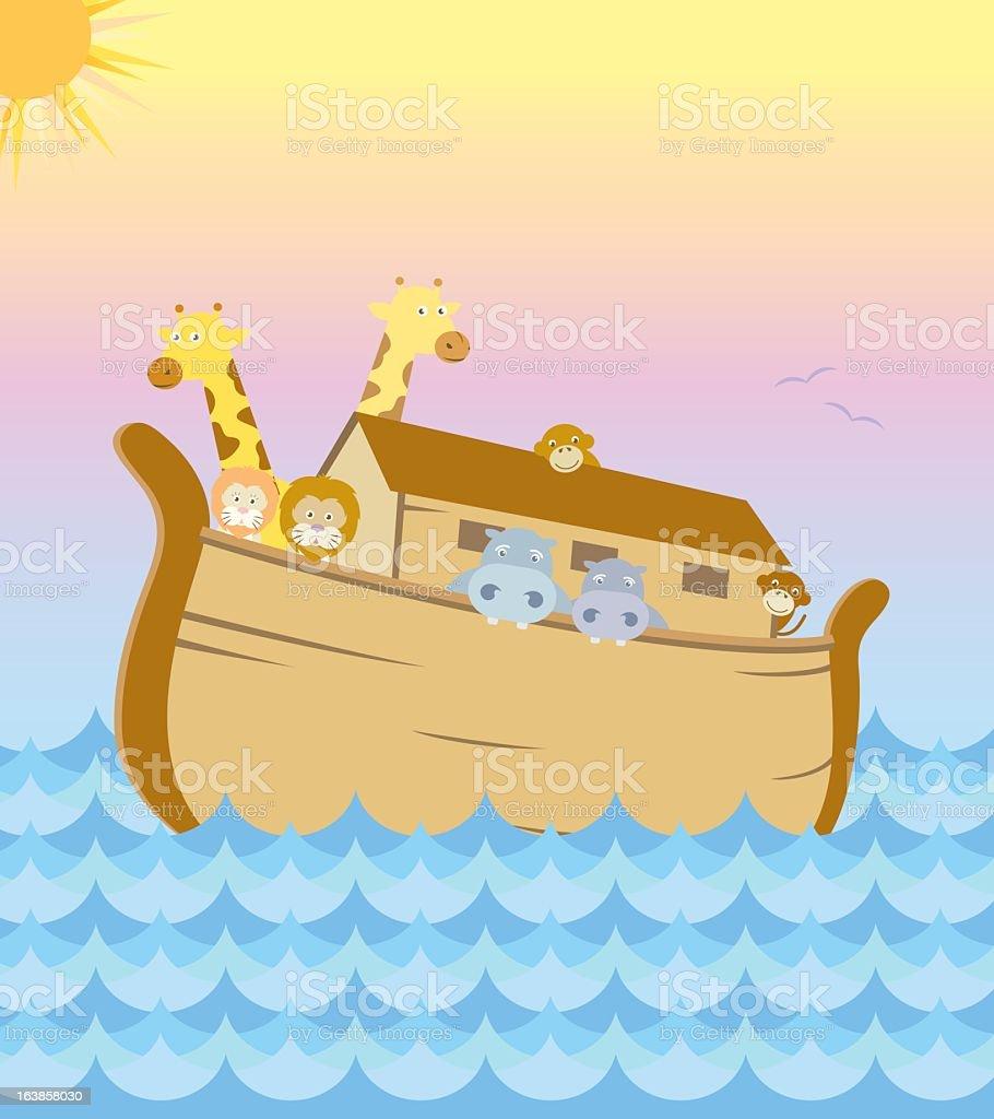 Animal on the Ark royalty-free stock vector art