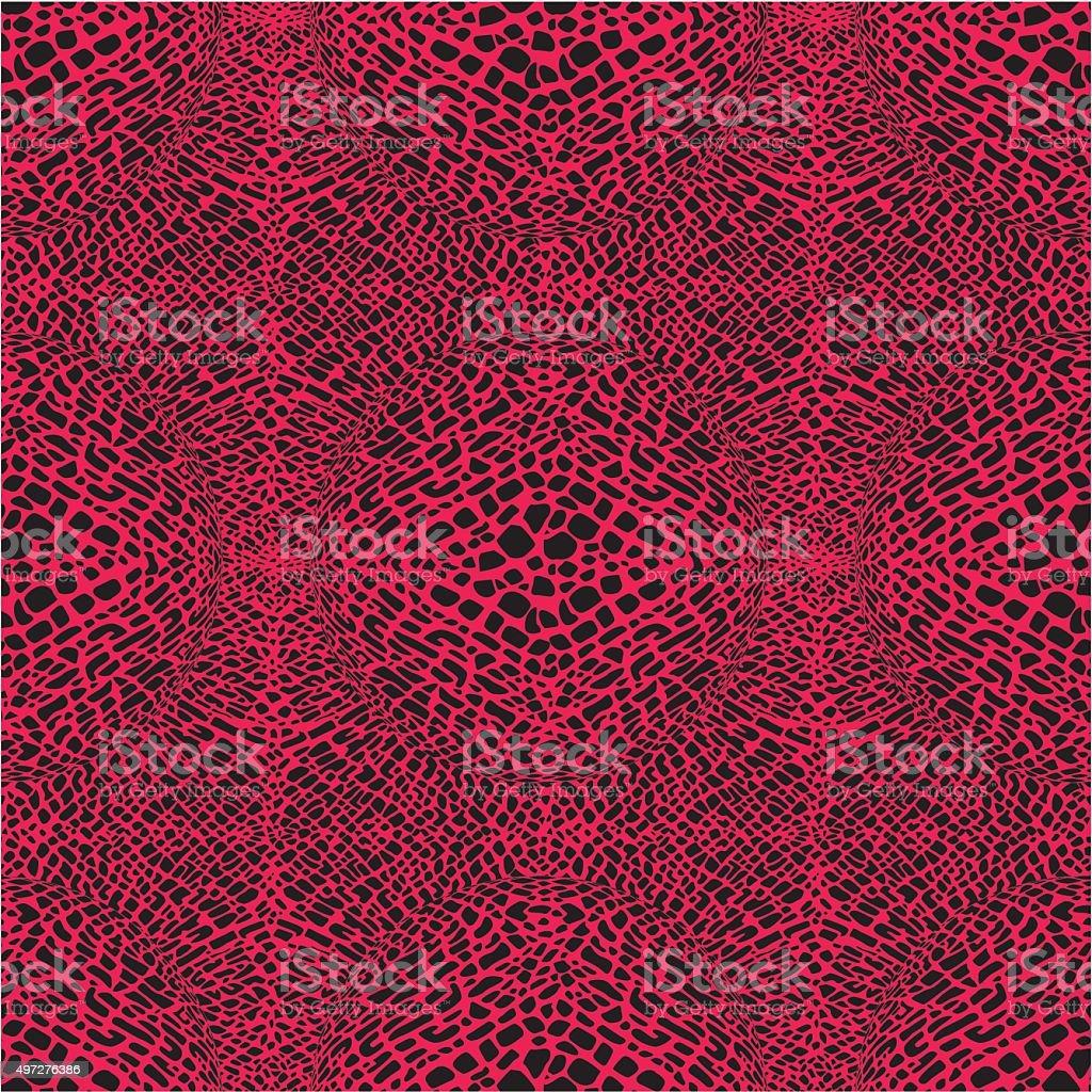Animal print seamless pattern vector art illustration