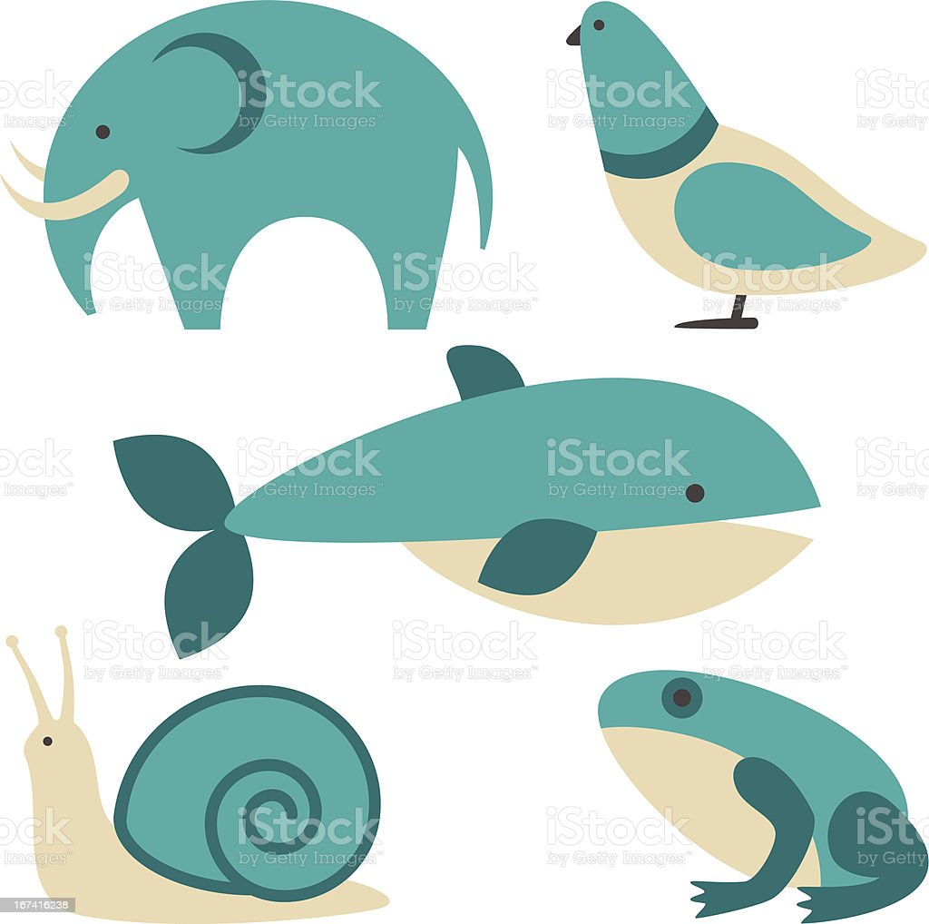 Animals vector royalty-free stock vector art