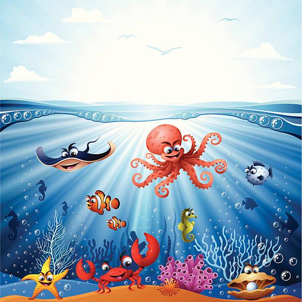 ocean floor clipart - photo #36