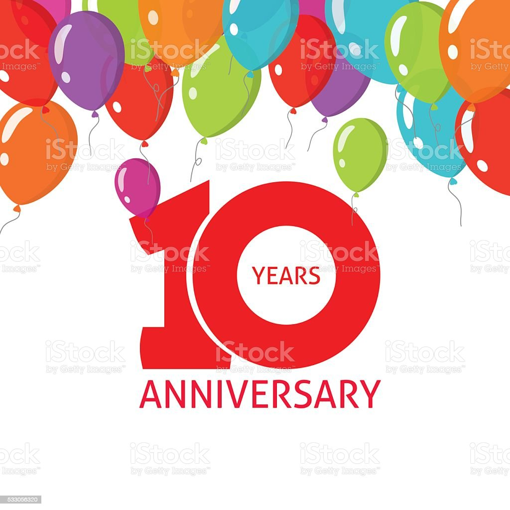 10 летний юбилей фирмы поздравление