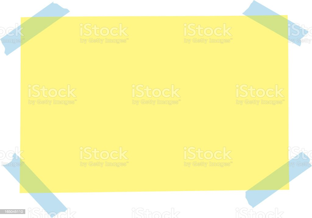 announce it royalty-free stock vector art