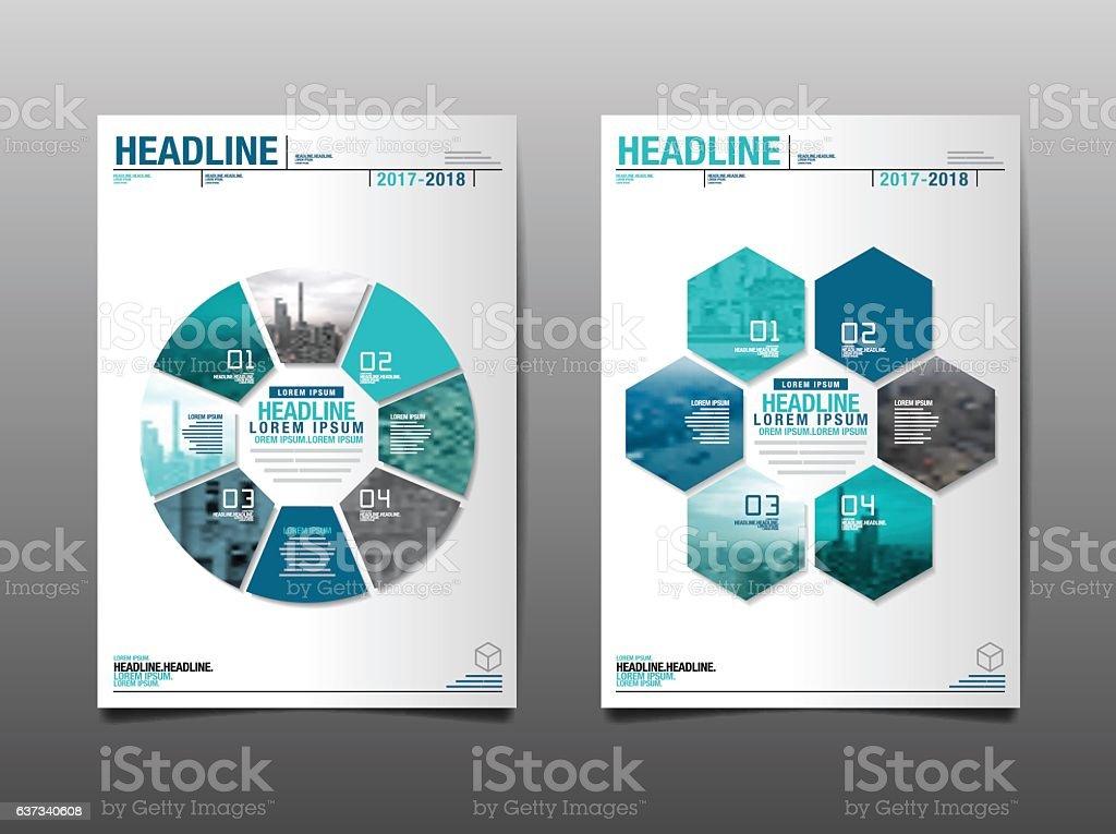 annual report 2017,2018 ,future, business. vector art illustration