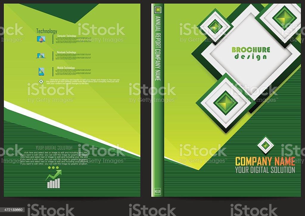Annual Report Cover Design stock vector art 472133660 iStock