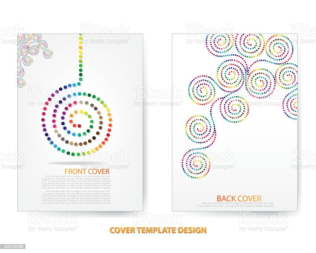 Annual Report Cover Design stock vector art 523752265 – Annual Report Cover Page Template