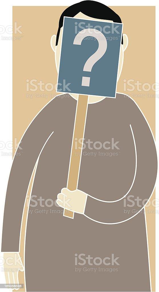 Anonymity vector art illustration