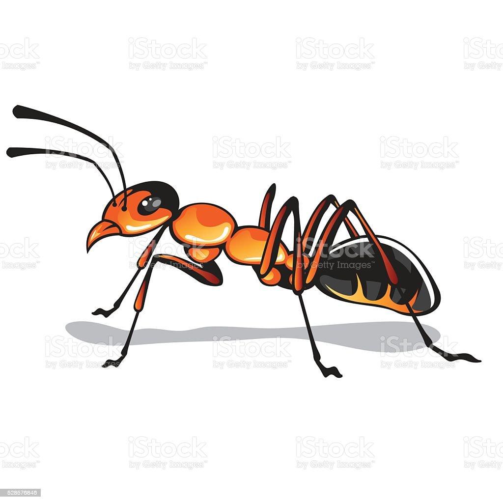 Ant vector art vector art illustration