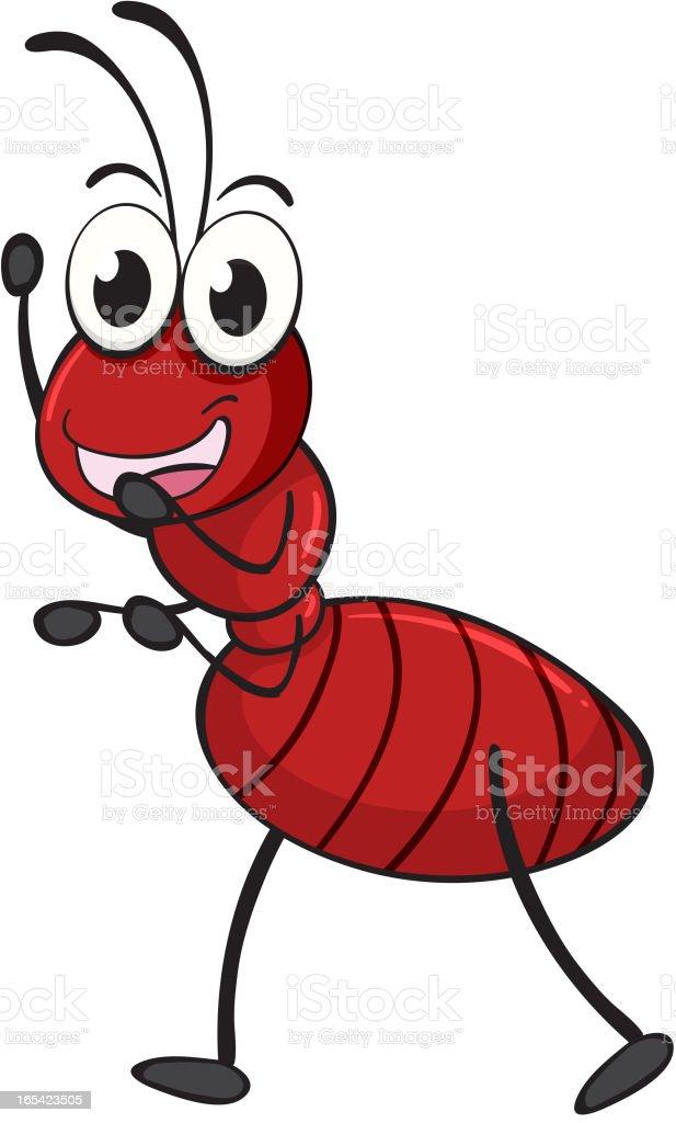 Ant royalty-free stock vector art