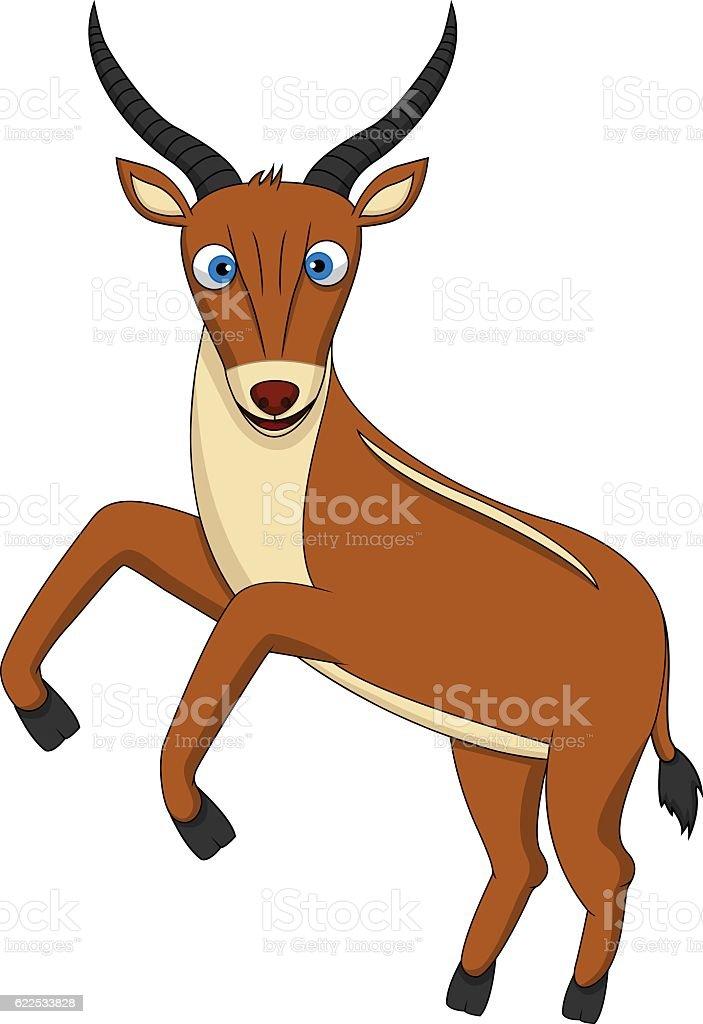 Antelope vector art illustration