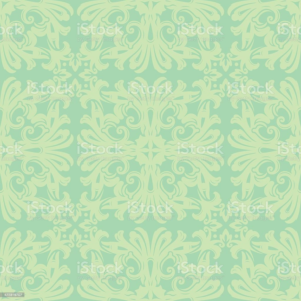 Antique Floral Pattern royalty-free stock vector art