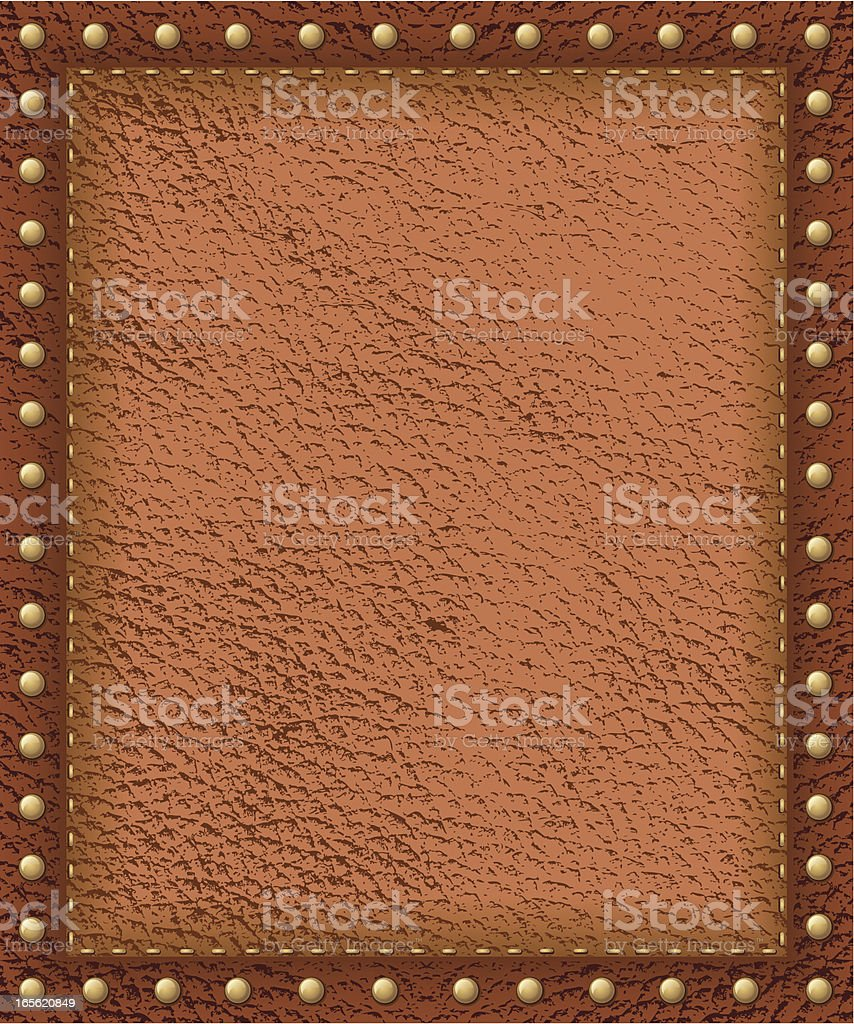 Antique Leather Background vector art illustration