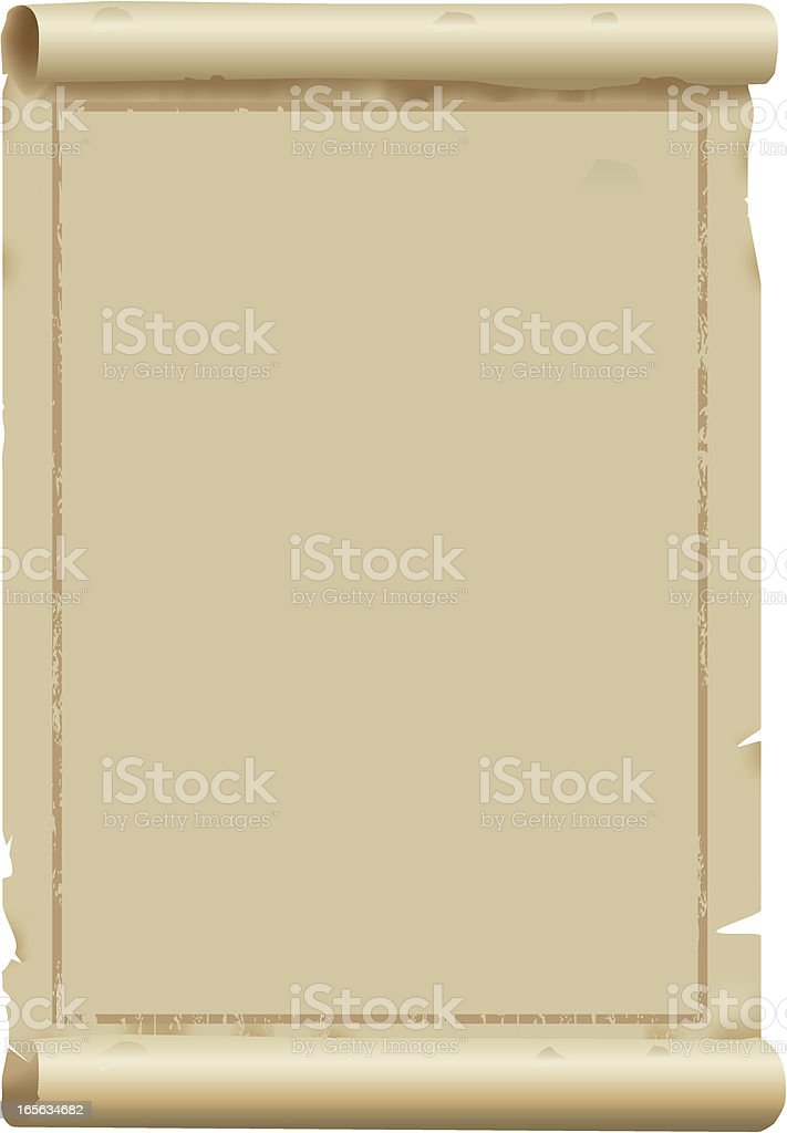 Antique Parchment royalty-free stock vector art