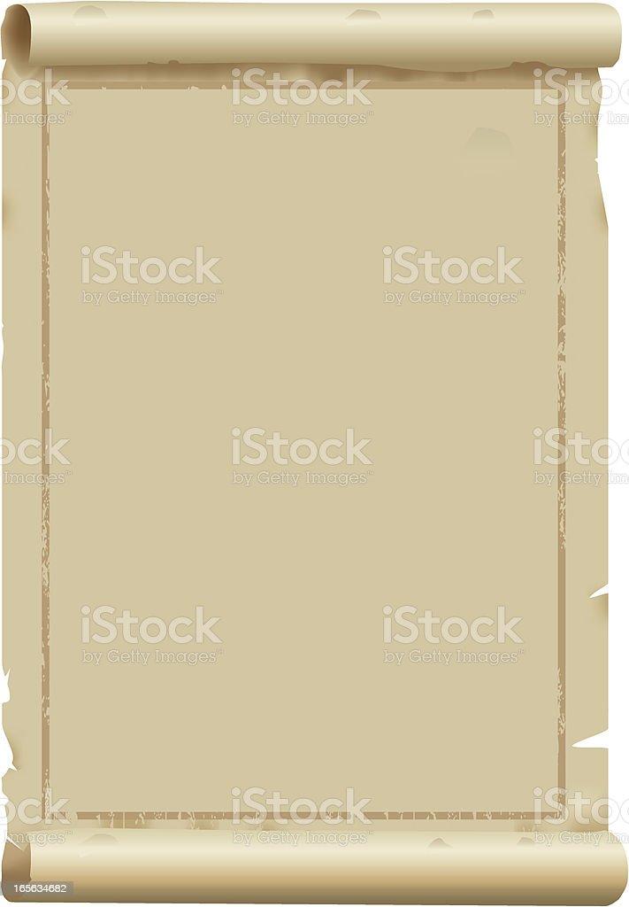 Antique Parchment vector art illustration