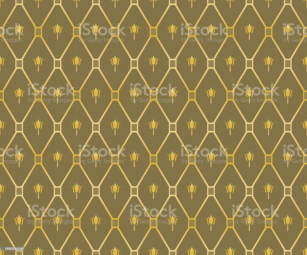 Antique Pattern (vector) royalty-free stock vector art