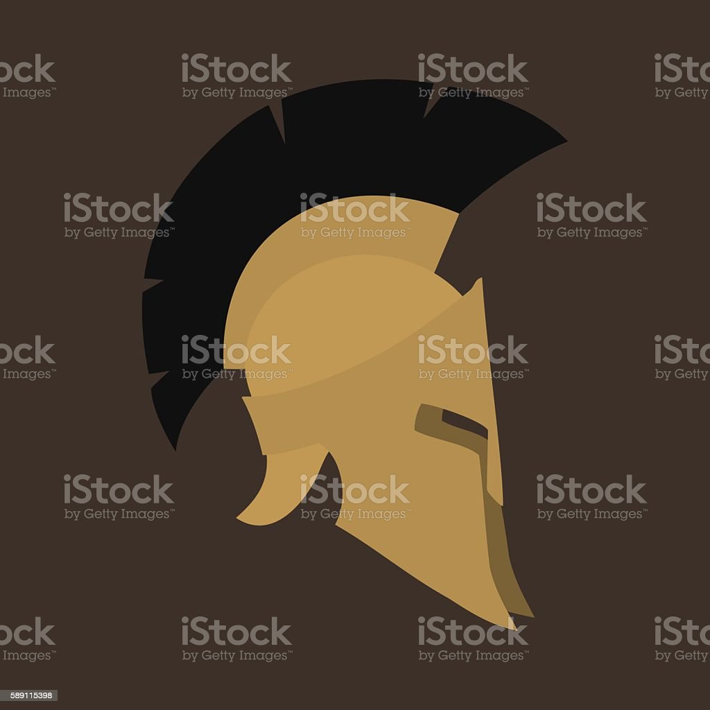 Antiques Roman Isolated vector art illustration