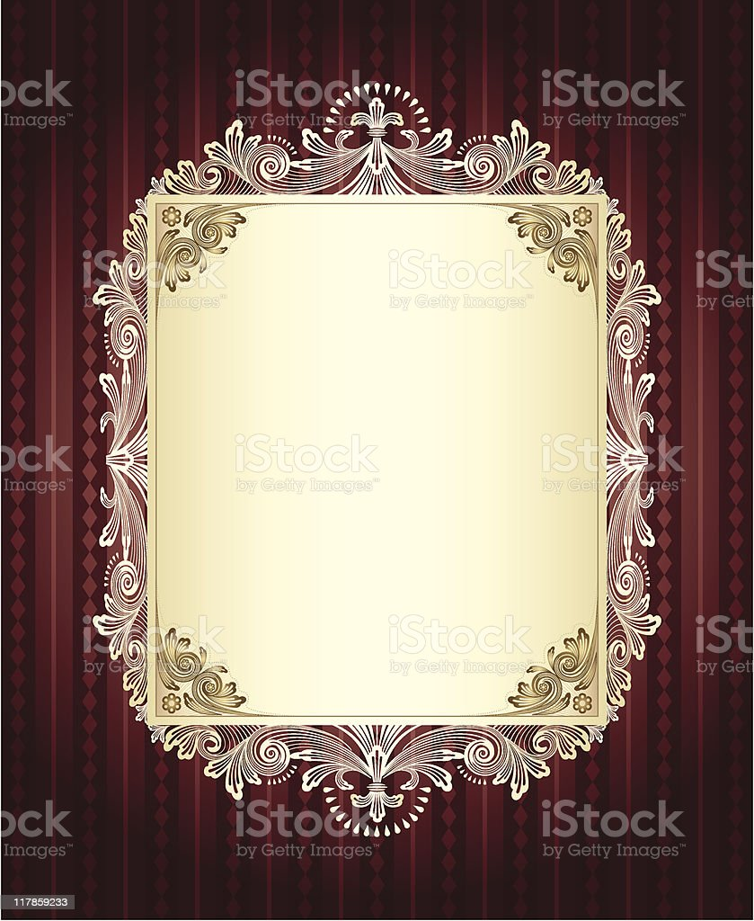 Antoinette Display royalty-free stock vector art