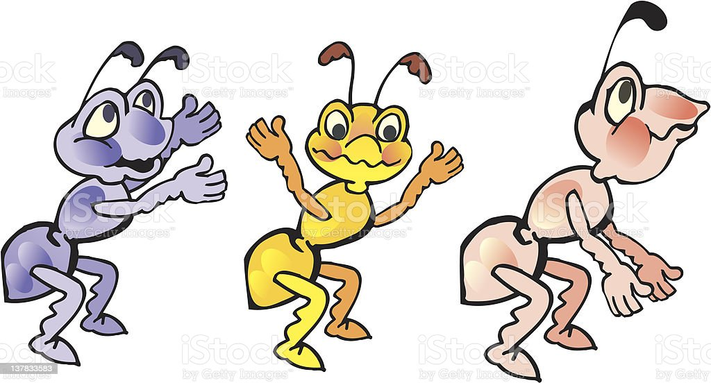 ants royalty-free stock vector art
