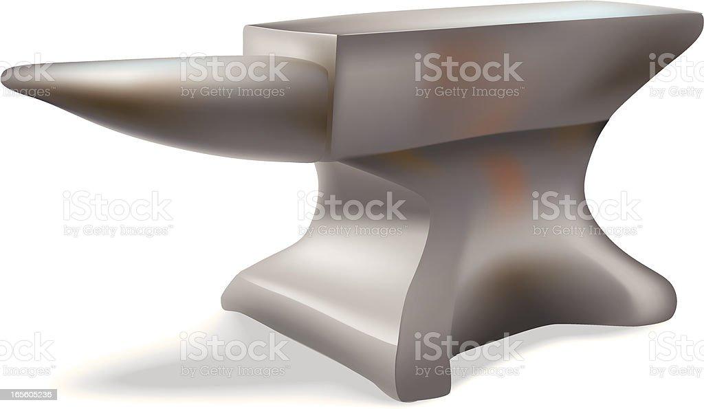 anvil royalty-free stock vector art