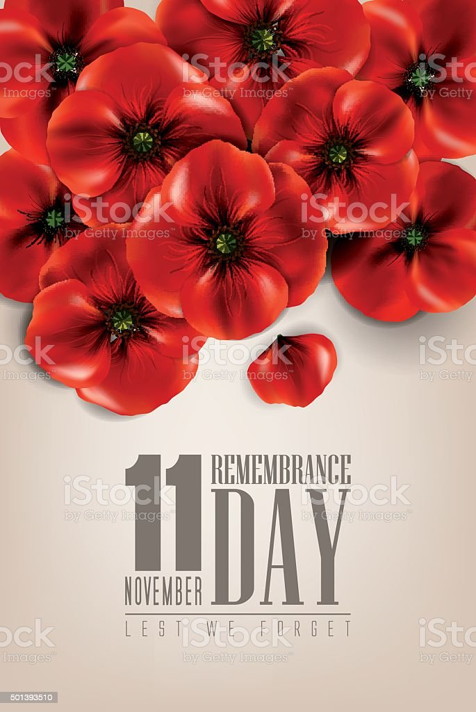 Anzac day - remembrance day - Illustration vector art illustration