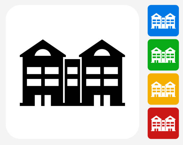 Multifamily Apartments Clip Art Vector Images Illustrations