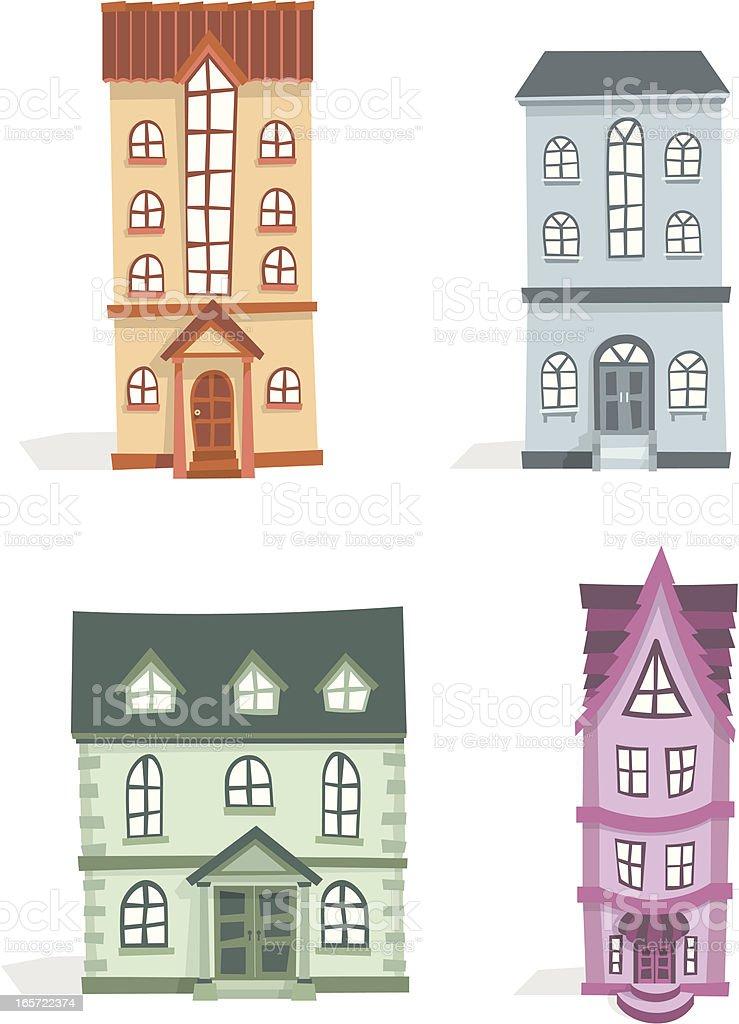 3D Apartment Set royalty-free stock vector art