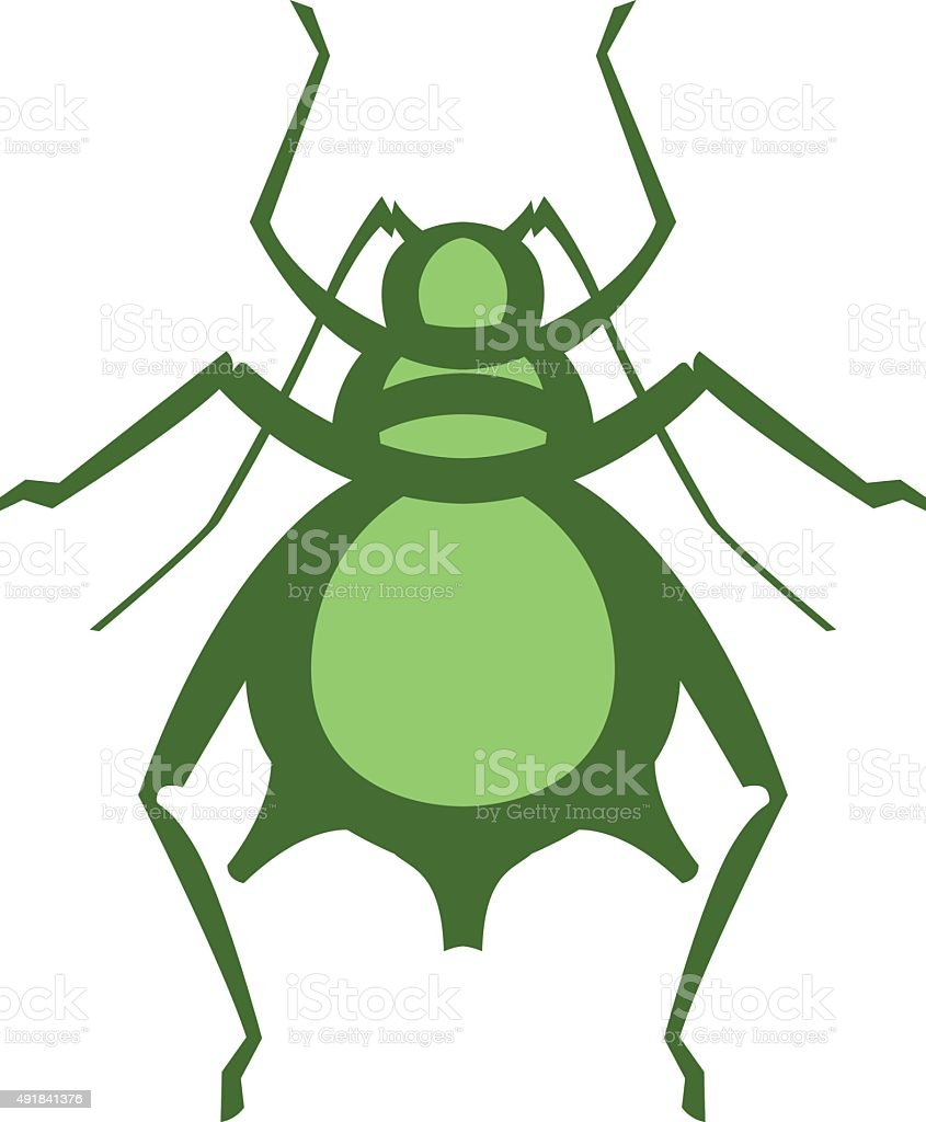 aphid pest vector illustration vector art illustration