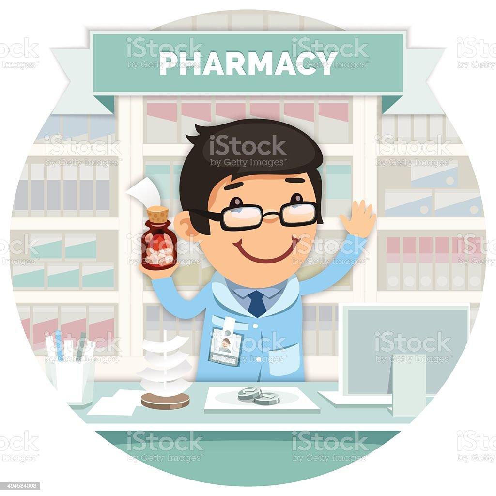 Pharmacists Job Description Clip Art