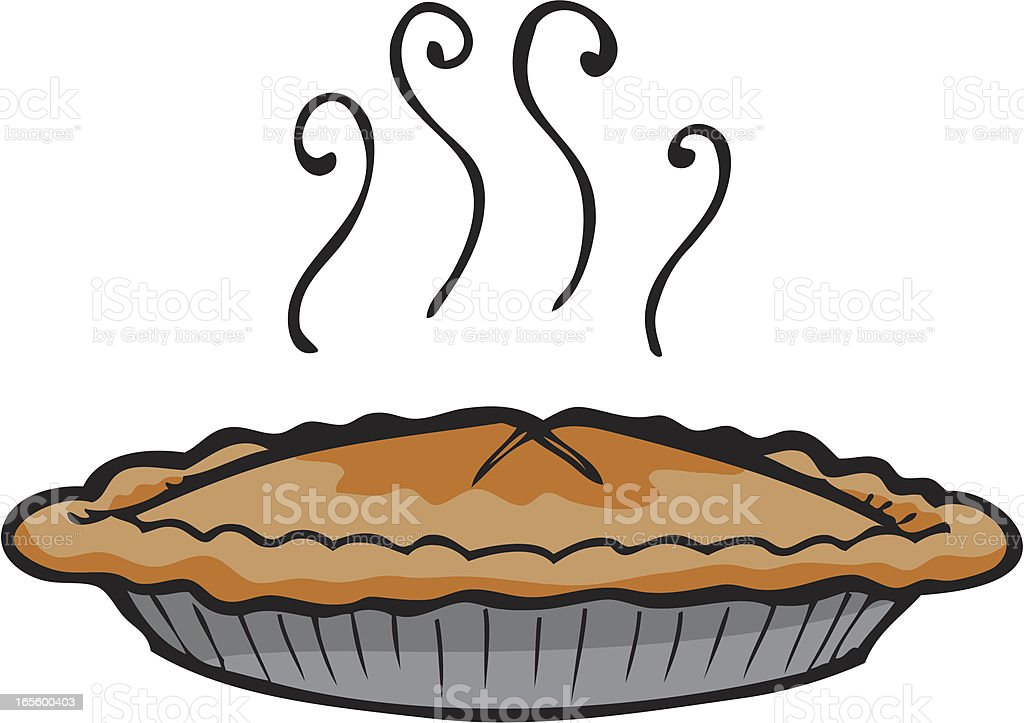 Apple Pie royalty-free stock vector art