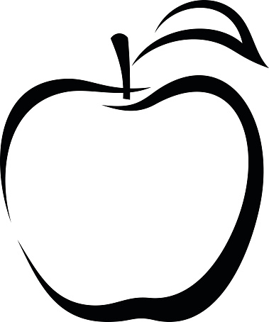 Apple Clip Art, Vector Images & Illustrations - iStock