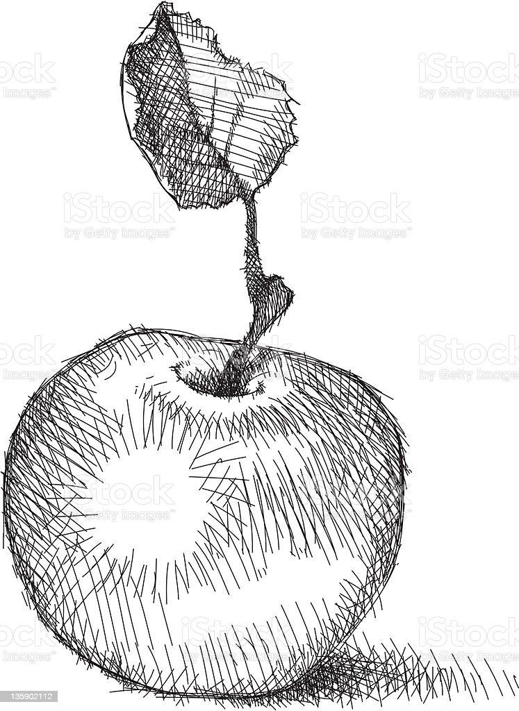 Apple royalty-free stock vector art