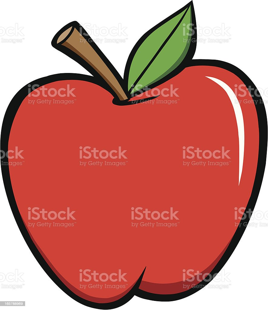 Apple royalty-free stock vector art