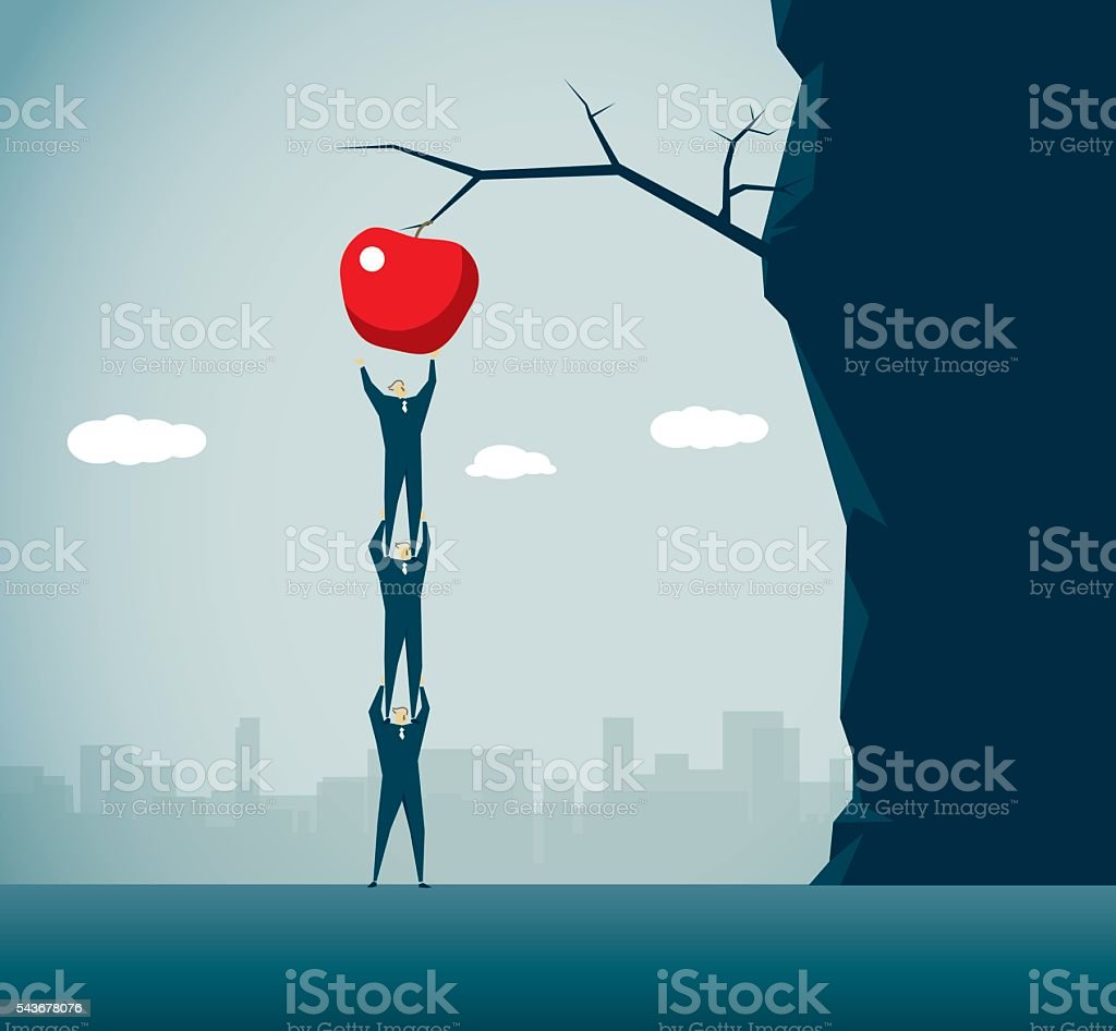 Apple vector art illustration