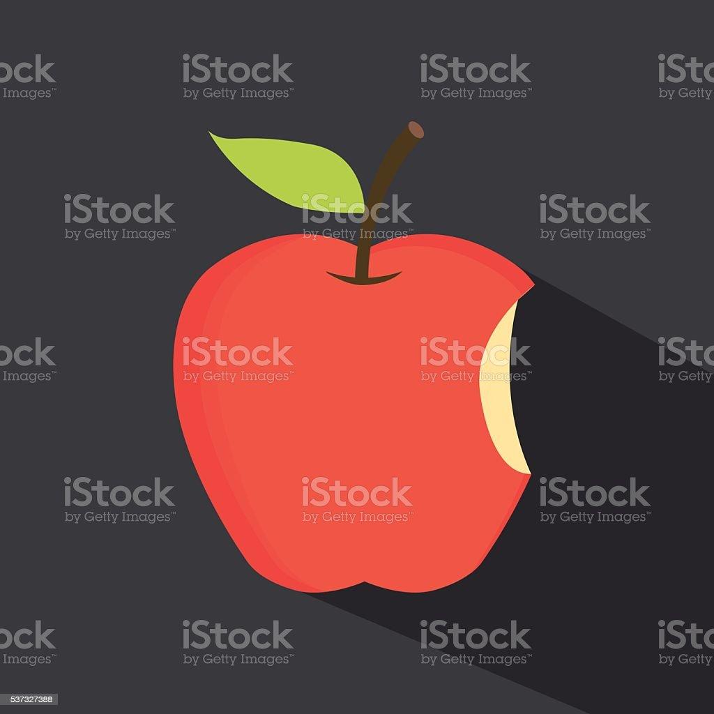 apple - vector illustration vector art illustration